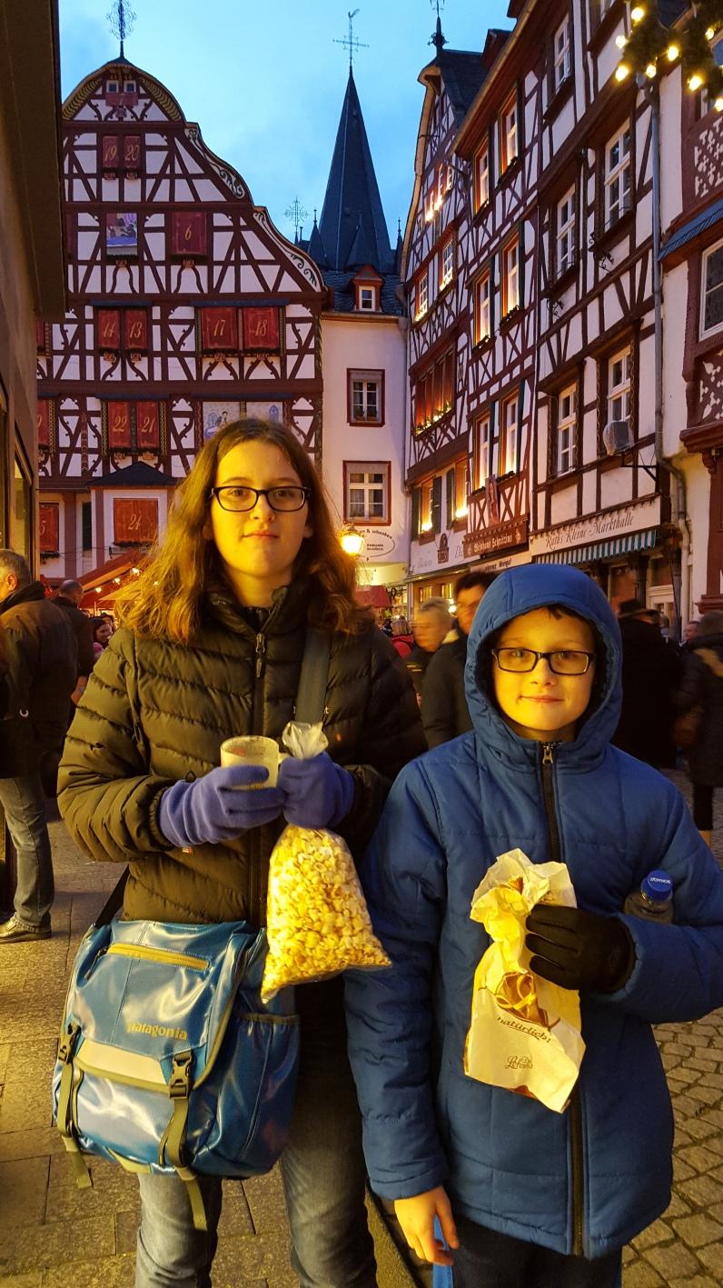 Christmas market in Bernkastel -Kues