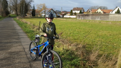 Will riding his bike in Rodenbach