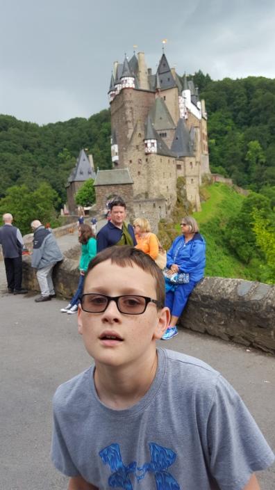 Burg Eltz with family