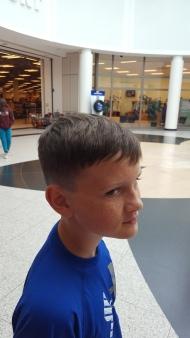 Haircuts on base.