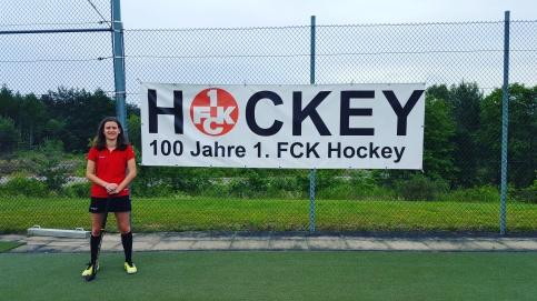 Josie's German hockey team